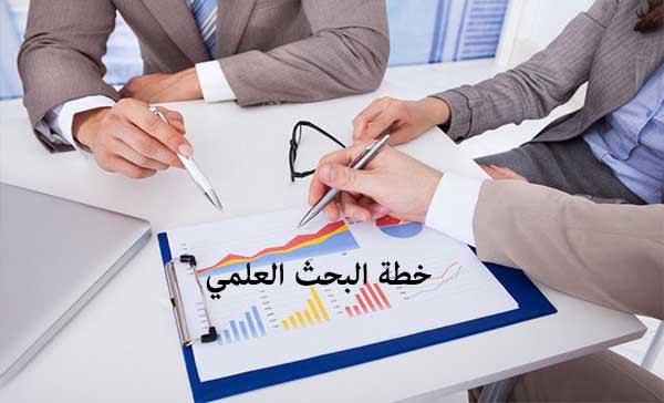 خطة البحث وعناصرها في الأبحاث العلمية ورسائل الماجستير والدكتوراة